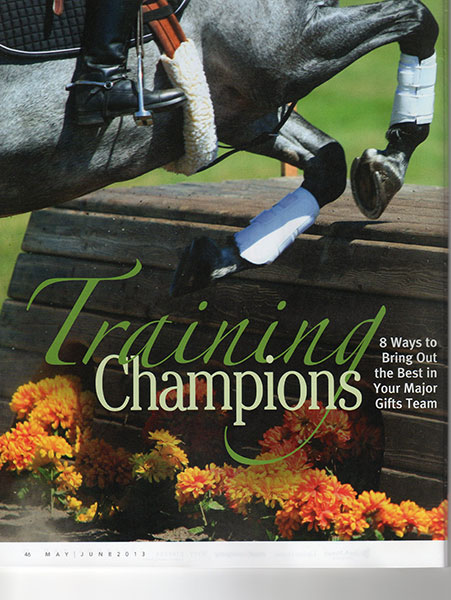 Training-Champions-cover-page-CASE-Currents-May-June-2013