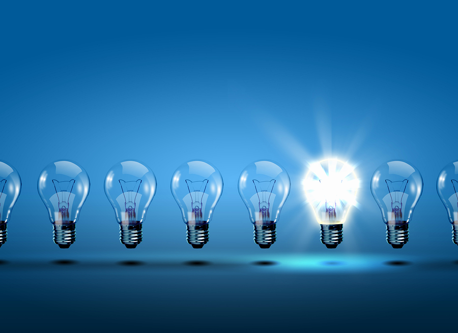Bigstock row of lightbulbs