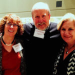 EBH with Larry Kaptain, Dean, College of Arts & Media and community volunteer Gaye Leonard January 2015
